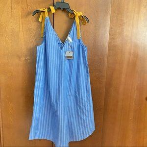 Matilda Jane NWT Size Medium Tie Shoulder Dress